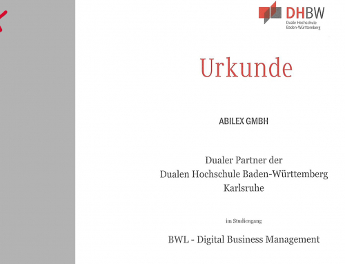 abilex ist dualer Partner der DHBW Karlsruhe