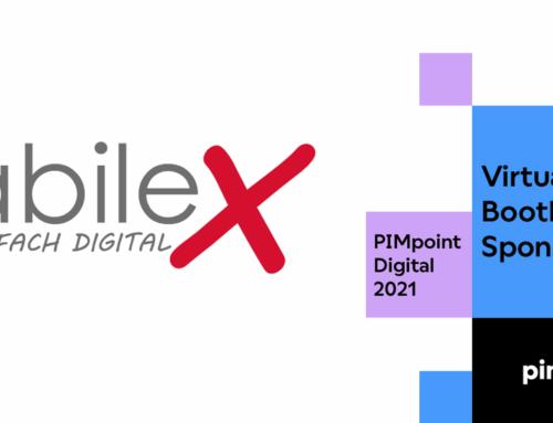 Das abilex Team auf der PIMpoint Digital 2021